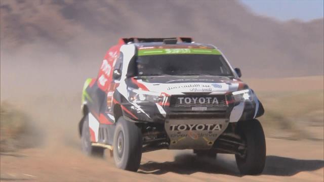 Dakar Rally   Hoogtepunten auto's dag 2
