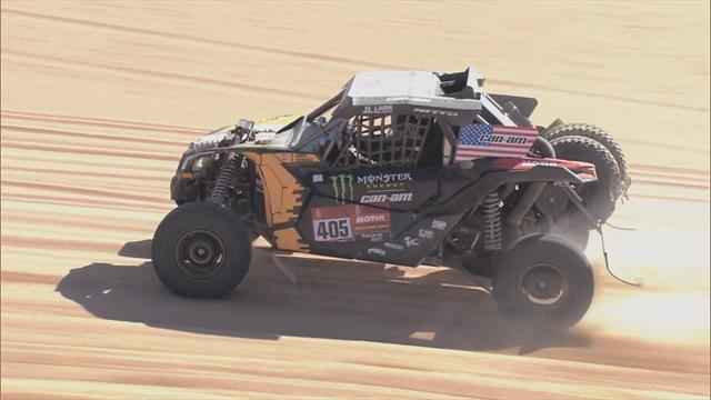 Lopez Contardo unstoppable in SSV at Dakar 2020