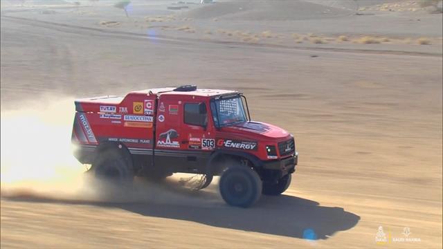 Dakar heavyweights rip it up on stage 2