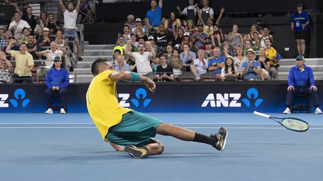 El puntazo de Kyrgios en la ATP Cup que hará que nos reconciliemos con él