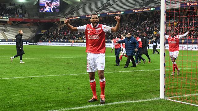 Coupe de la Ligue: Reims premier qualifié pour les demi-finales
