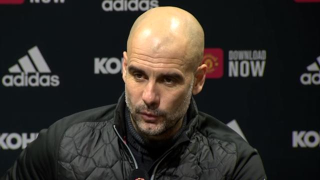 'I don't feel sorry for United' - Guardiola