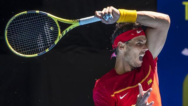 ATP Cup: Goffin fait chuter Nadal pour la première fois… depuis 2004