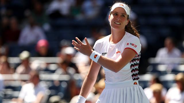 Konta pulls out of Adelaide with knee injury - is she a doubt for Australian Open?