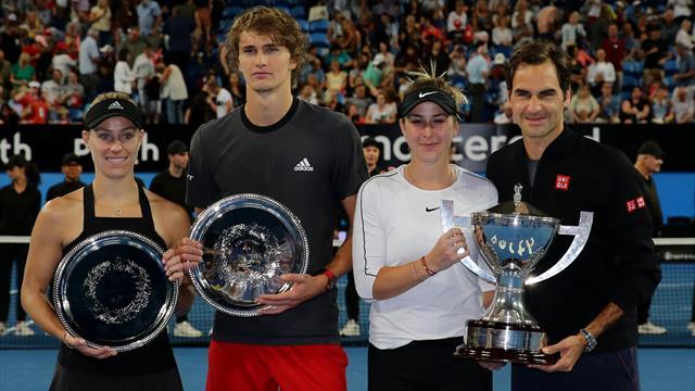 Spende für jeden Doppelfehler: Schweizer Tennisstar nimmt Zverev aufs Korn