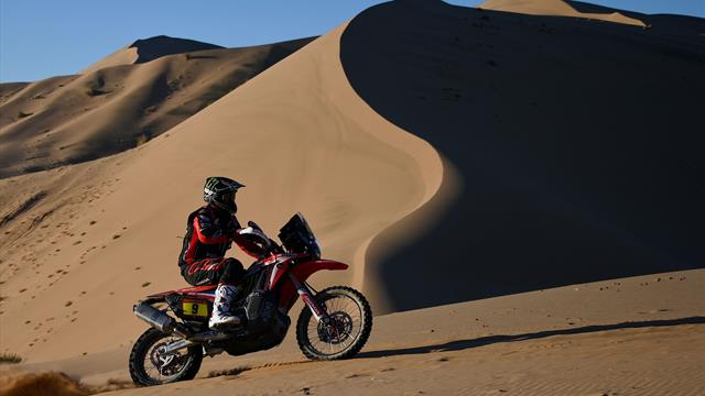 Running repairs and serious injuries mix up Stage 4 in Dakar Rally