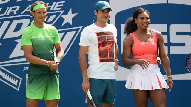 Federer, Nadal e Serena Williams in campo per l'Australia: il 15 gennaio esibizione a scopo benefico