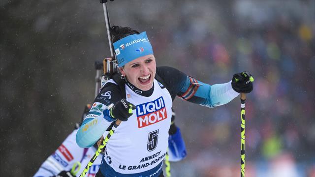 Martin Fourcade retrouve la forme et la victoire — Biathlon