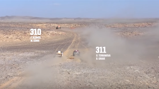 Dakar 2020: Alonso, en dirección contraria y otro encontronazo con Terranova
