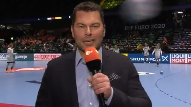 Autsch! Reporter während Live-Übertragung am Kopf getroffen