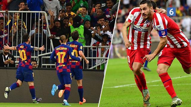 Highlights: Altdominerende Barcelona taber det hele i de sidste ti minutter mod Atletico!