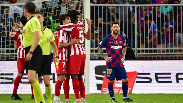 L'Atletico batte 3-2 il Barcellona e si regala il Real in finale: gli highlights