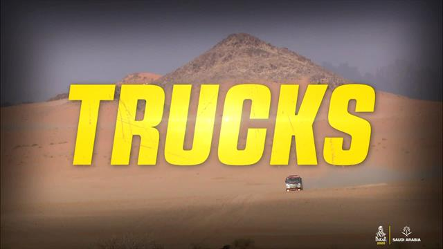 Dakar : Les temps forts - camions