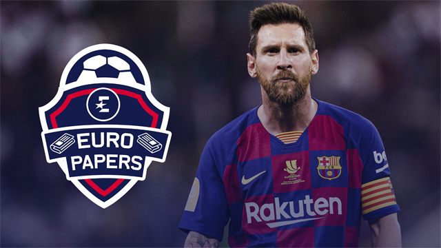 Barca to snatch Arsenal's top target as Messi fury prompts action - Euro Papers