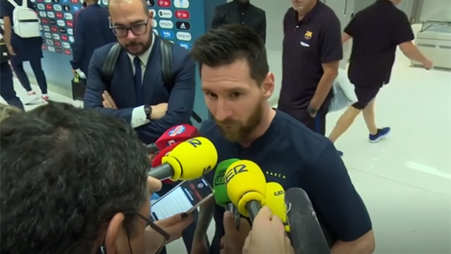 Messi laments 'childish mistakes' from Barcelona