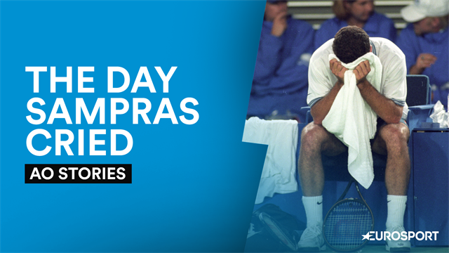 AO Stories: Sampras can't contain his emotions after coach illness