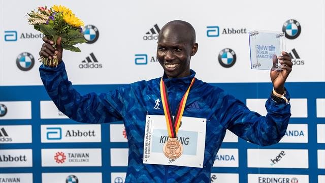 Former marathon WR holder Kipsang provisionally suspended for anti-doping violations
