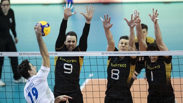 Olympia-Traum geplatzt: Deutsche Volleyballer verlieren Quali-Finale