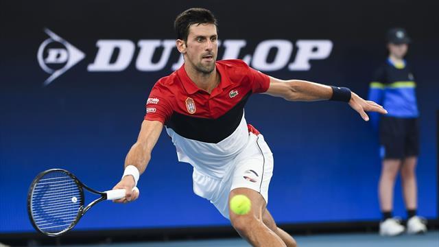 Erst Ausraster, dann Traumtennis: Djokovic führt Serbien ins Finale