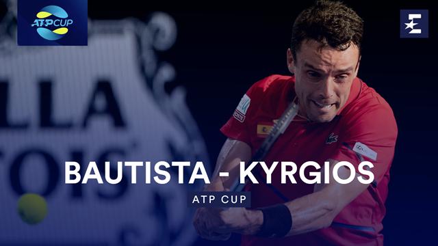 Höjdpunkter: Bautista - Kyrgios