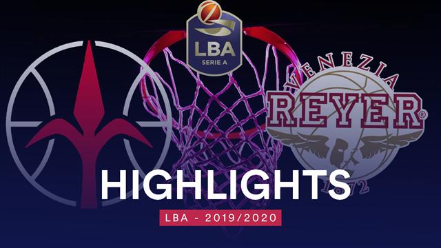 Highlights: Allianz Trieste-Umana Reyer Venezia 72-81