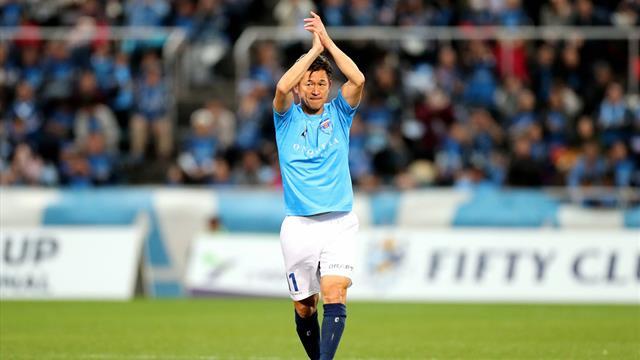 """Ältester Fußballprofi der Welt macht weiter: """"King Kazu"""" noch nicht müde"""