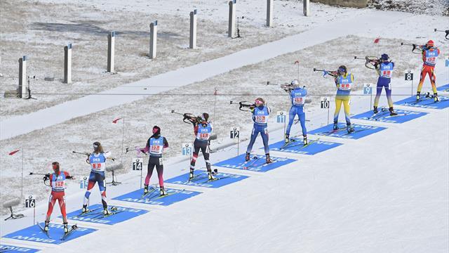 Staffel-Highlights aus Oberhof: So lief das Rennen der Frauen