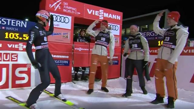 """""""Sensationell!"""" So springt Geiger im Val di Fiemme zum ersten Saisonsieg"""