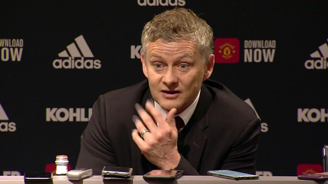 'Fans have got to believe me' - Solskjaer reacts to fan taunts
