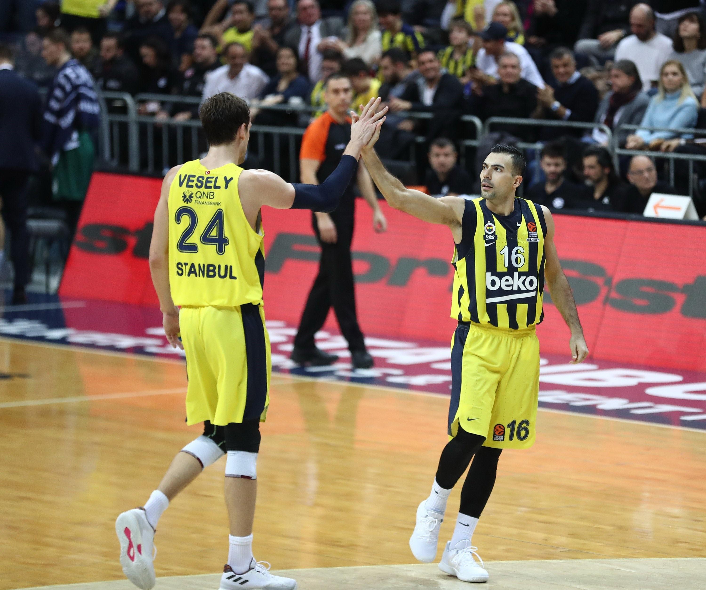 Jan Vesely ve Kostas Sloukas | Fenerbahçe Beko