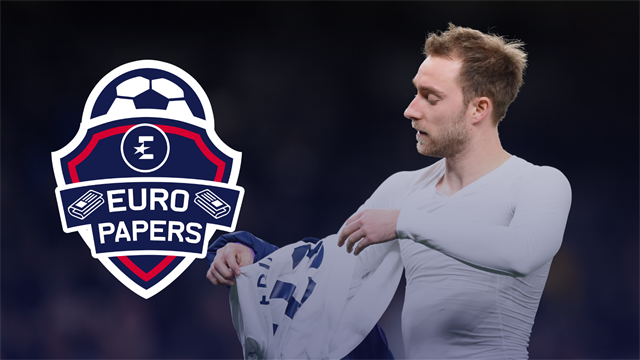 Eriksen's Inter contract details revealed but Conte isn't finished there! - Euro Papers