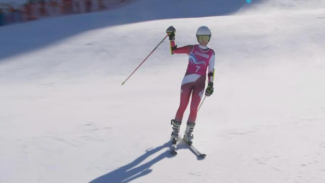 Rising star Amelie Klopfenstein wins second gold of Youth Olympic games with GS victory