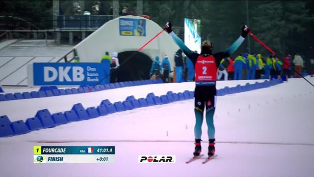 Oberhof| Fourcade neemt leiding over na tweede overwinning van het weekend