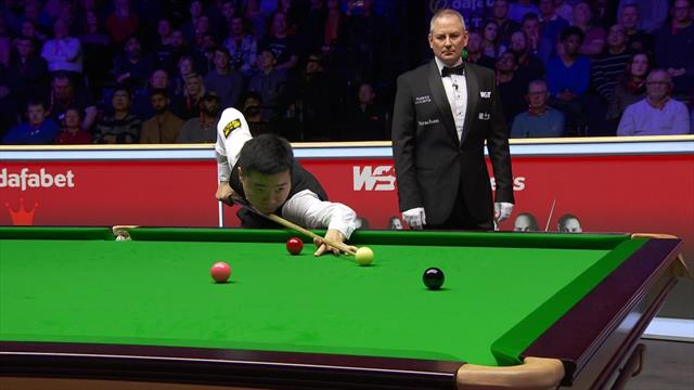 First century of the Masters goes to Ding Junhui