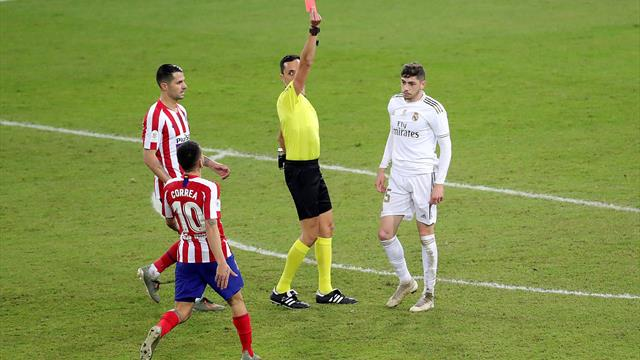 Un partido de sanción para Fede Valverde por su polémica entrada a Morata; no jugará ante el Sevilla