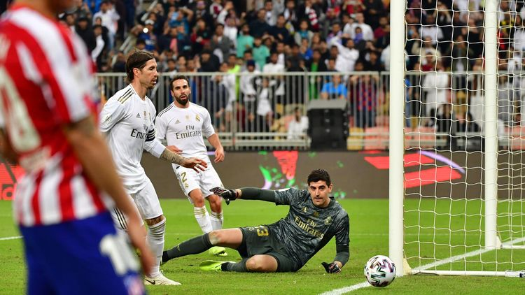Real Madrid Down Atletico Madrid In Saudi Arabia Shootout
