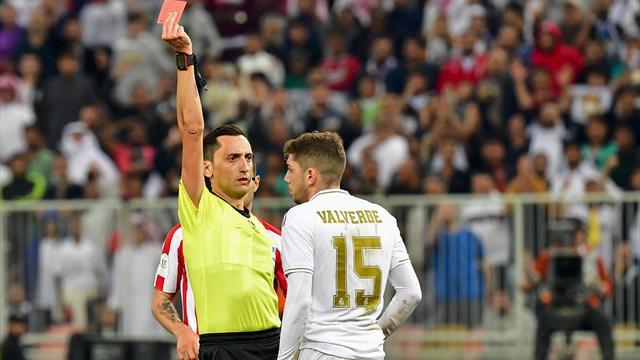 Highlights: Madrid-derby i Saudi Arabien leverer rødt kort, intens fight og straffesparkskonkurrence