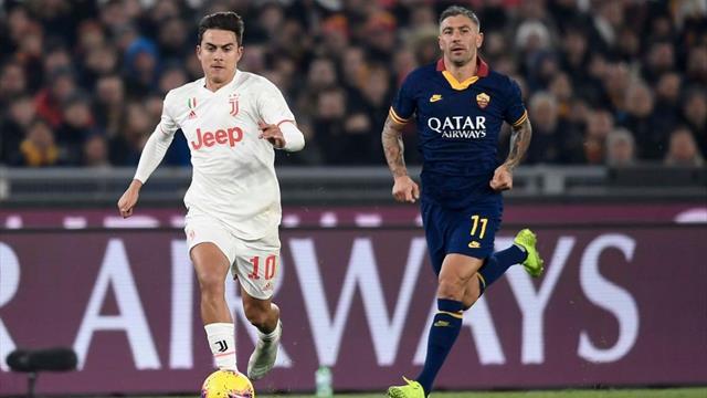 Le pagelle di Roma-Juventus 1-2: Dybala determinante, serataccia per Kolarov