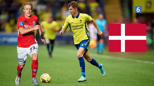Highlights: To debutantmål sikrede U21-landsholdet årets første sejr
