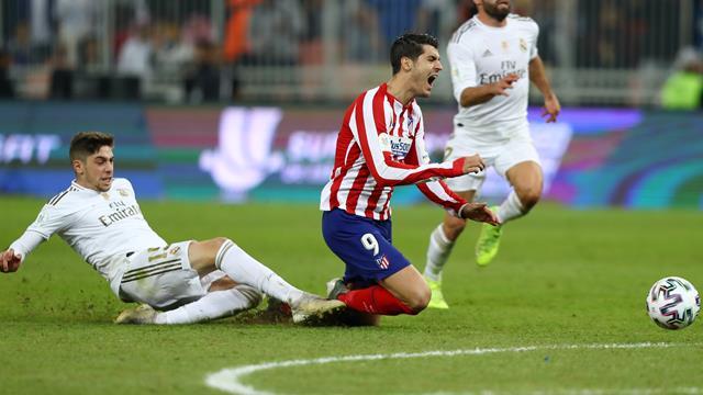 Morata terminó la Supercopa vomitando tras un pisotón de Carvajal