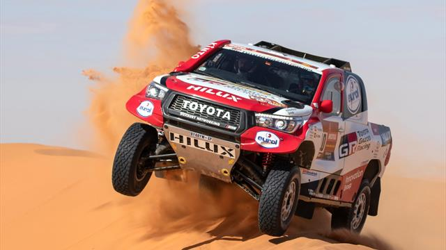 Dakar 2020: ¡Alonso, qué manera de 'surfear' las dunas!
