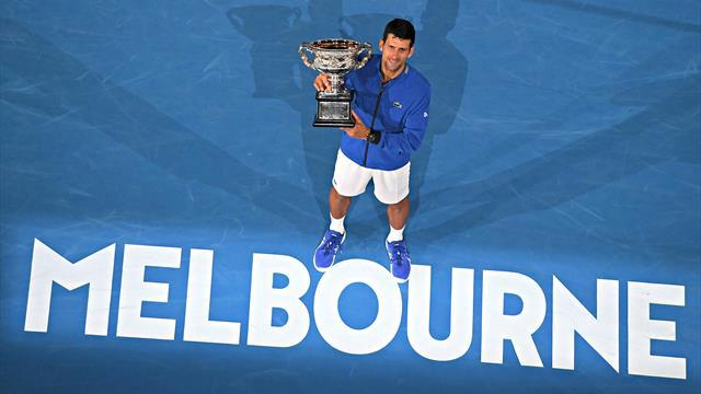 Quiz - Connaissez-vous tous les joueurs battus par Djokovic lors de ses sept titres à Melbourne ?