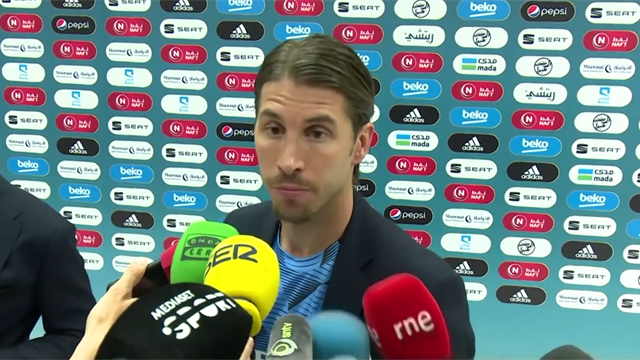 Valverde apologises for Super Cup red card, but Ramos says he'd have done the same thing