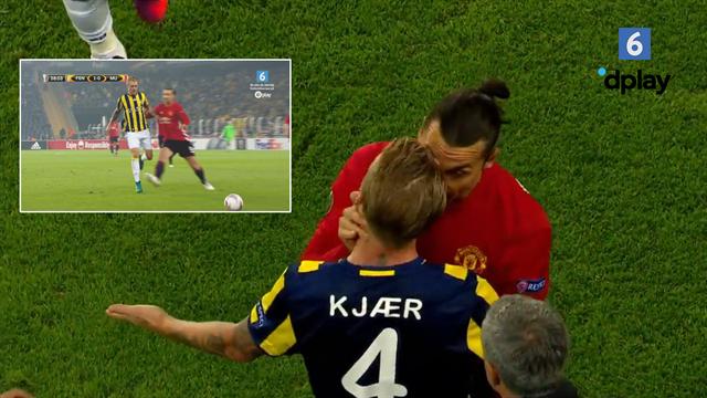 Husker du Zlatans svinestreg på Simon Kjær? Nu er de holdkammerater i AC Milan