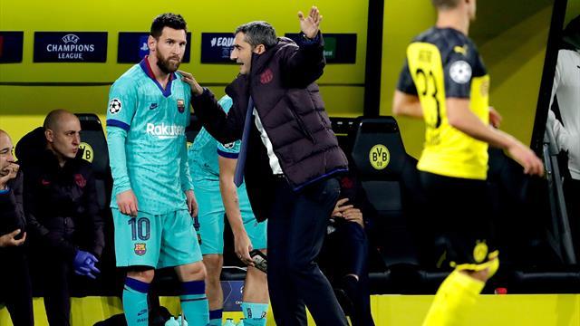 """""""Partout où vous irez, vous serez génial"""" : Messi rend hommage à Valverde"""