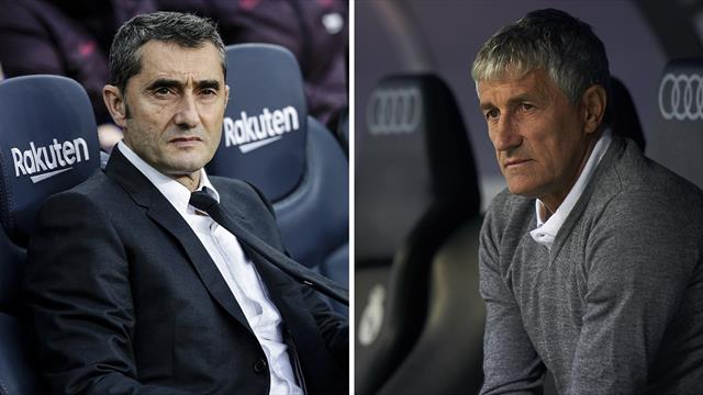 Valverde sacked by Barcelona, replaced by Setien
