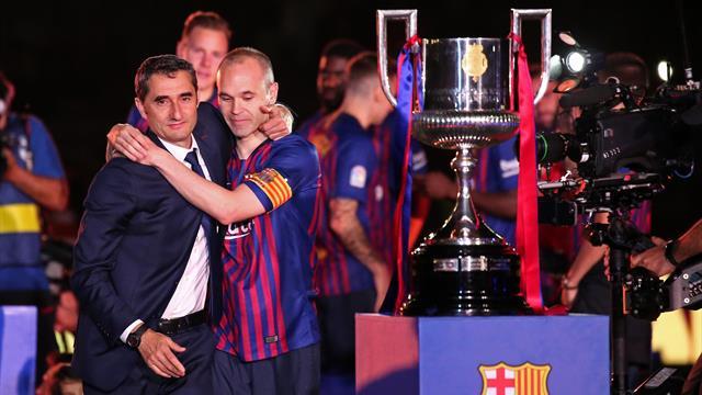 Иньеста – о Вальверде: «Барселона» ведет себя немного некрасиво»