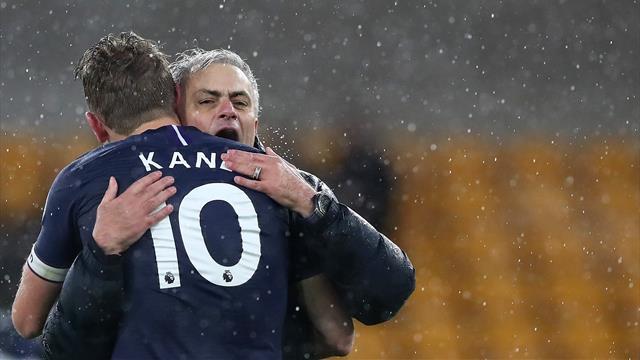 """Mourinho : """"Finir quatrièmes sans Kane et Son, ce serait incroyable"""""""