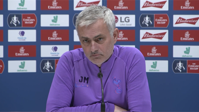 Mourinho: Kane could be out until end of the season