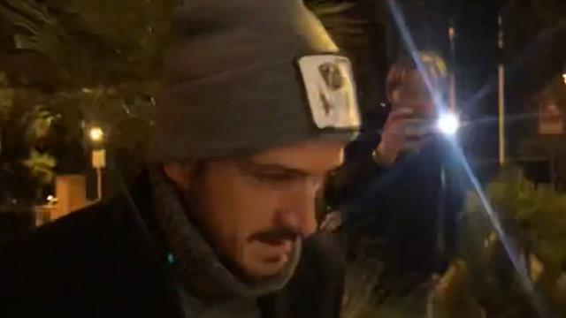 Florenzi, cuore di capitano: l'esterno della Roma va a trovare Zaniolo a Villa Stuart